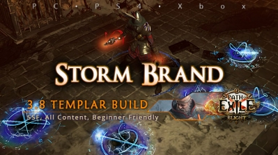 [Templar] PoE 3.8 Storm Brand Inquisitor Beginner Build (PC, PS4, Xbox)
